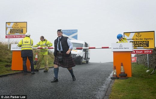 Scotland may unilaterally declare independence in May 2015
