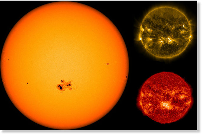 Astronomers catch monster sunspot that turns towards Earth ...