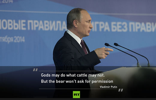 Valdai 2014: Putin just made the most important speech of his career