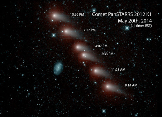 NASA's NEOWISE mission spies K1 PanSTARRS