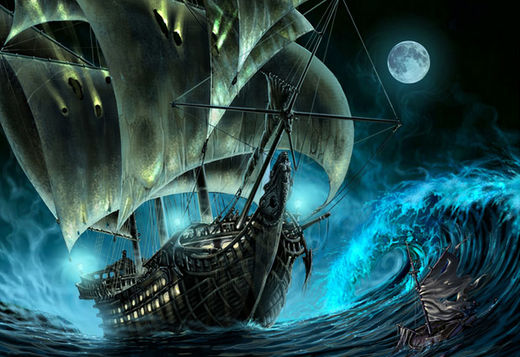 Six haunting tales of ghost ships throughout history