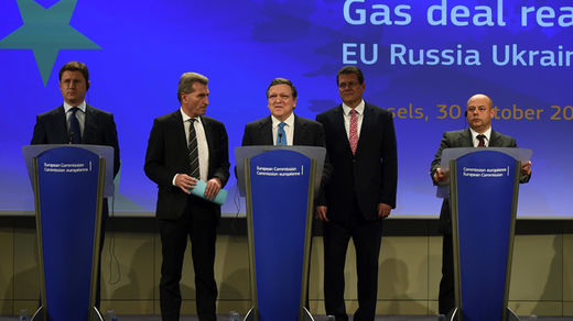 russia, EU ukraine gas agreement