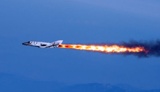 Virgin Galactic SpaceShipTwo destroyed after 'in-flight anomaly'