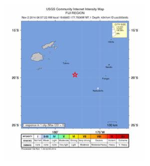 Ndoi Island Quake_011114