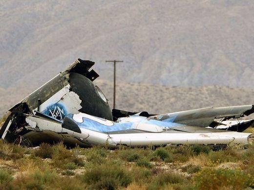 crash SpaceShip2
