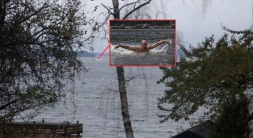 Putin in Swedish waters