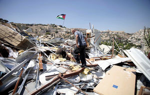 palestinian home destroyed twice