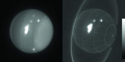 infrared images of Uranus
