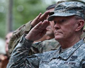 US General Martin E. Dempsey