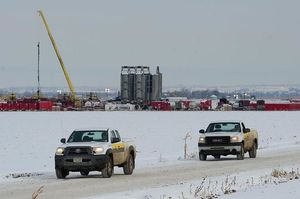 Halliburton fracking site