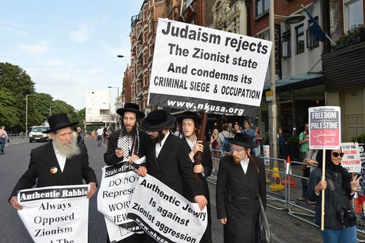 Rabbis Opposed to Zionism