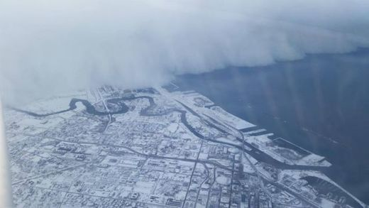 Lake effect snow: Nature's greatest snow machine