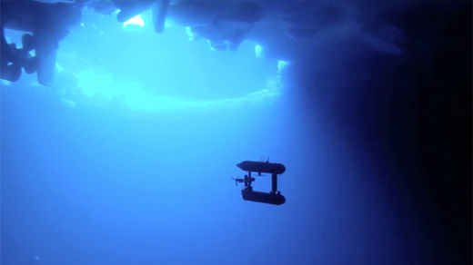 Surprise! Submarine drone finds Antarctic ice thicker than previously thought