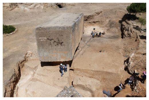 Largest stone block