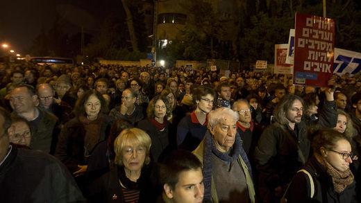 Israelis demonstrate