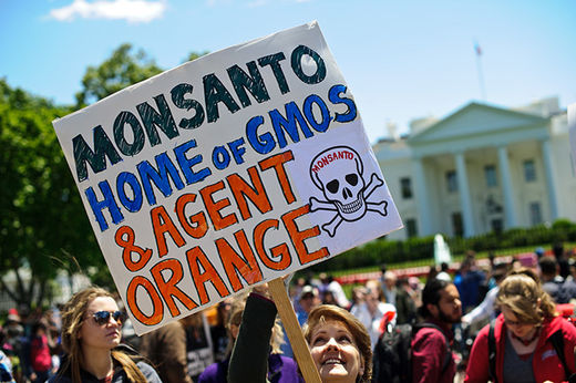 Anti GMO protests
