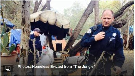 San Jose Jungle eviction