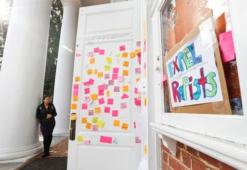 messages to UVA rape