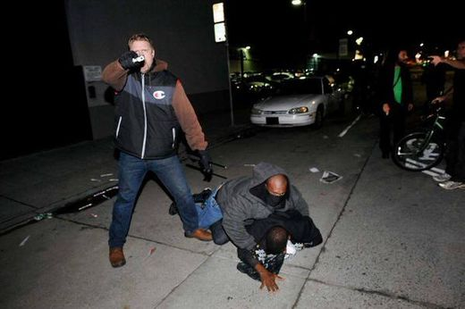 Berkeley protests: Undercover police officer pulls gun after being caught infiltrating group and instigating looting and violence