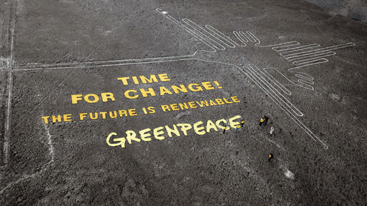 greenpeace nasca lines