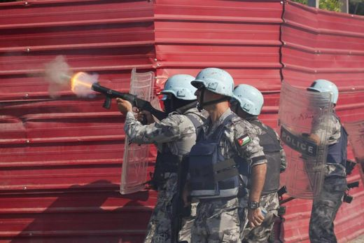 UN Peacekeepers Haiti