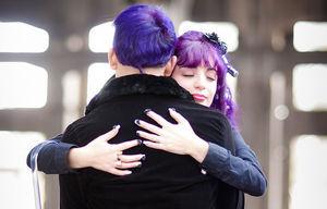hugs can help stress