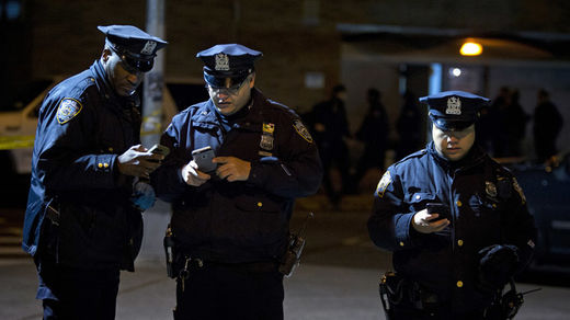 US police on high alert following cop killings