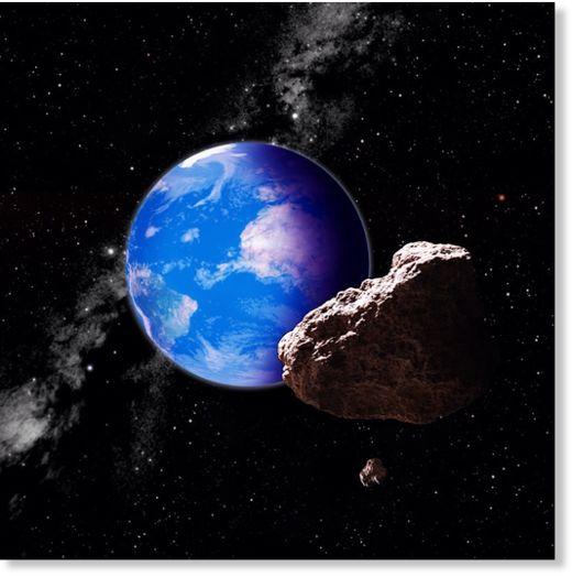 5 known asteroids - photo #14