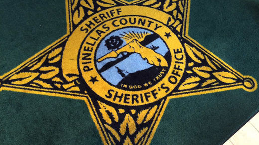 Florida sheriff's new rug removed for embarrassing typo