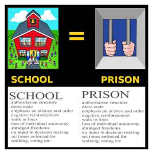 Schools and Prisons