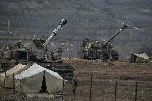 Israel mobile artillery units2