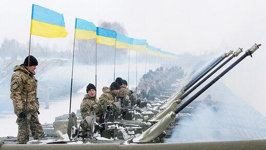 Ukrainian servicemen