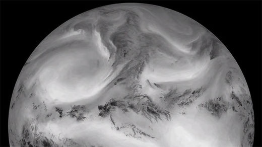 Stunning time lapse video shows off Earth bathed in infrared light