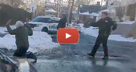 cop_snowball