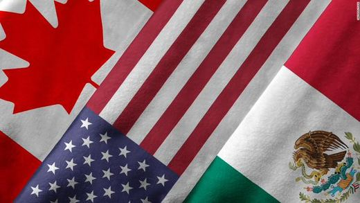 N. Americas flags