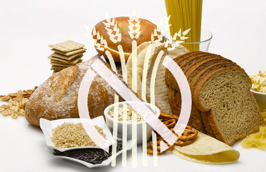 Digesting gluten products releases molecules that survive digestion and pass through gut lining