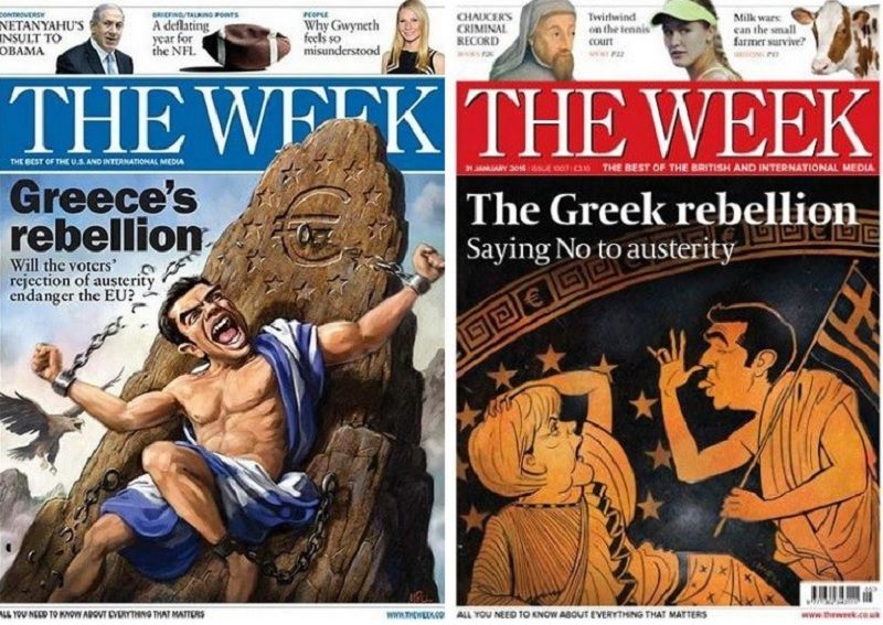 The changes to greece brought about by wwi