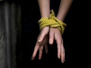 bound wrists