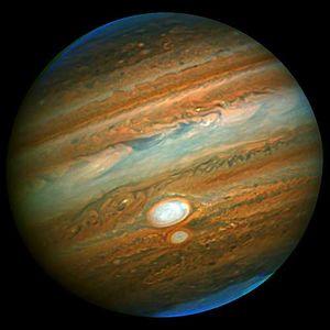 White spot on Jupiter
