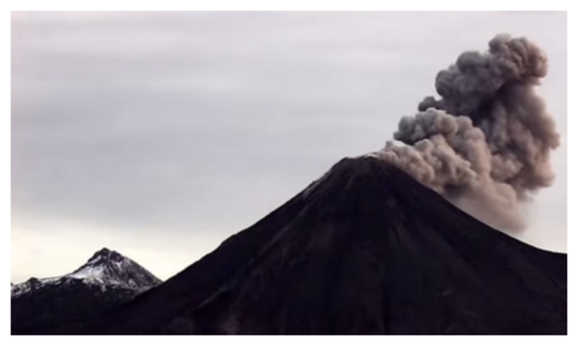 Colima Eruption