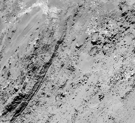 comet 67P surface 3