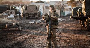 soldier Debaltseve