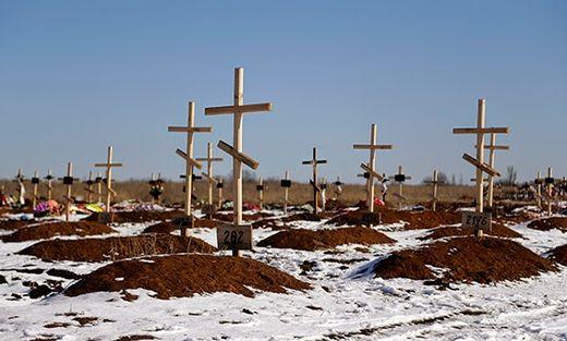 ukraine graves