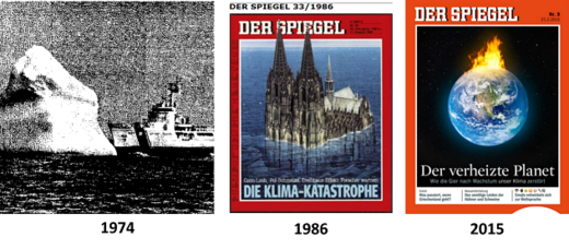 Catastrophe-hopping Spiegel: German news magazine rolls out latest climate horror vision: A burning North Pole
