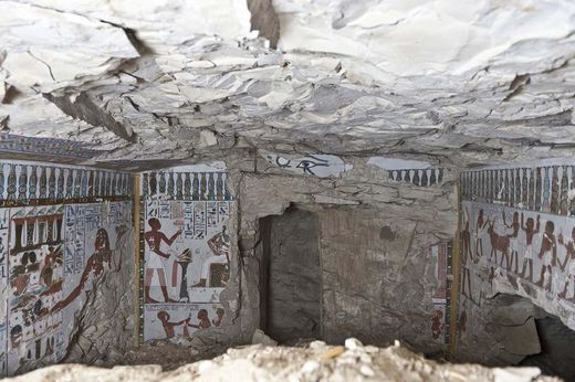 3000-year-old tomb unearthed in Luxor, Egypt