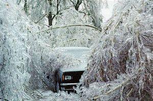 sever winter ice age