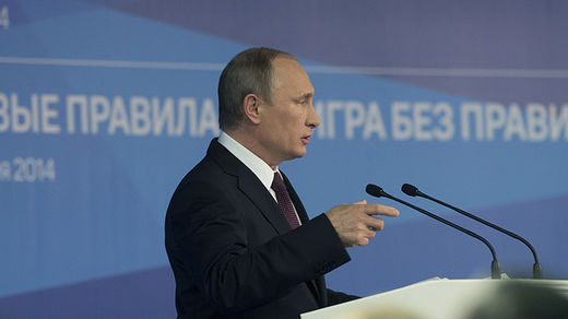 Putin: The Russian bear won't ask for permission