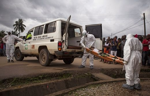 WHO report: Ebola virus death toll in West Africa reaches 9,840