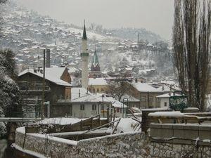 bosnia snowfall