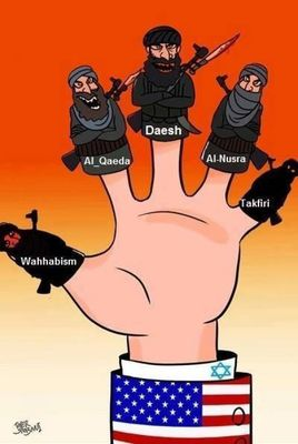 US Isis proxy